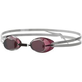 speedo Swedish Mirror Goggles, black
